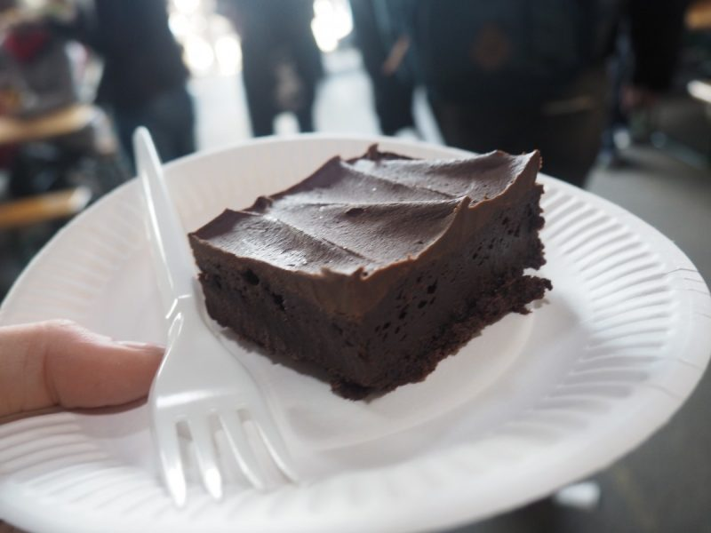 paper island brownie