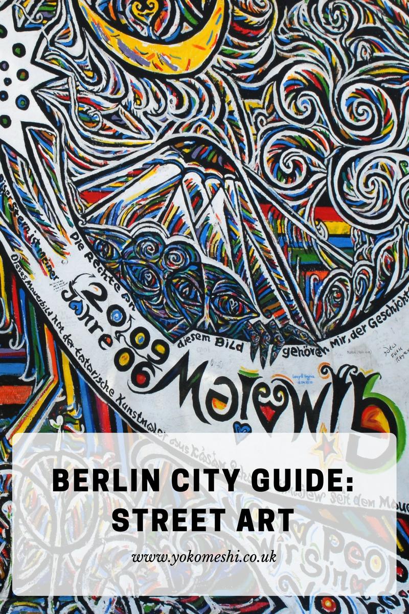 Berlin City Guide Street art