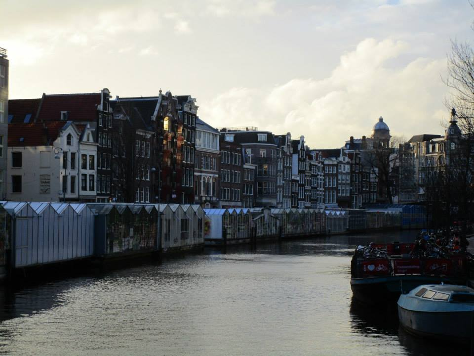Amsterdam at golden hour