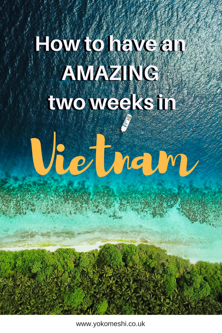 two weeks in vietnam pinterest pin