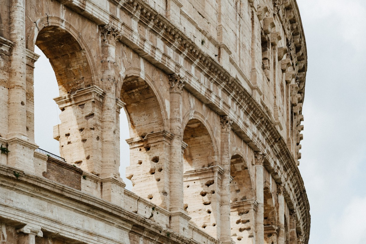 the colloseum is a must for your rome bucket list