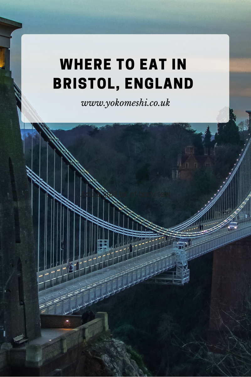 Where to eat in Bristol England