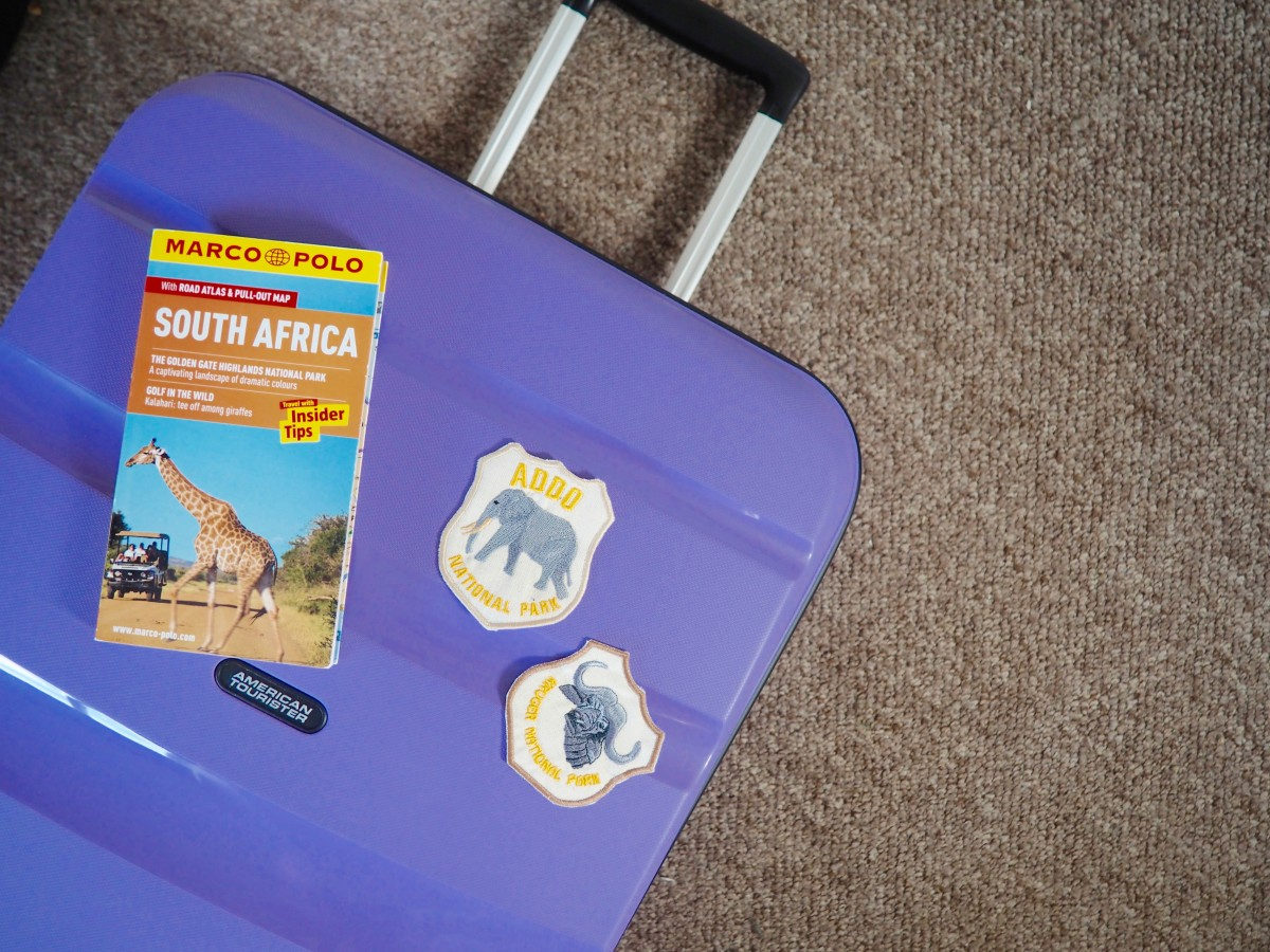 travel patches are great small souvenirs which take up minimal space when smart packing.