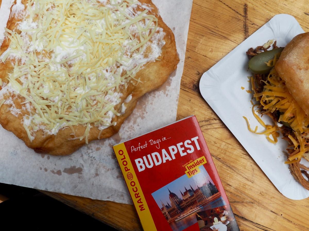 langos - Vegetarian food in budapest