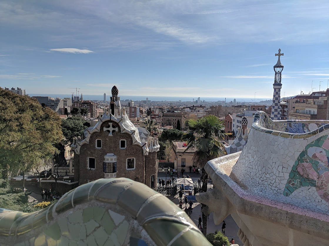 barcelona one day itinerary park guell