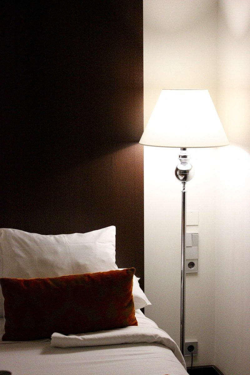 photo of a bed in a hotel room in alicante booked through a package city break