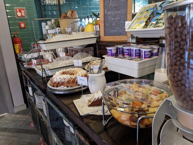 The rome hello breakfast buffet