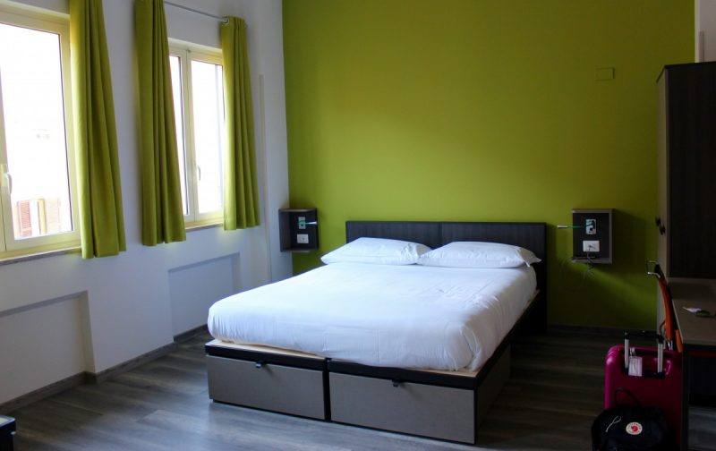 Photo of bed in the RomeHello