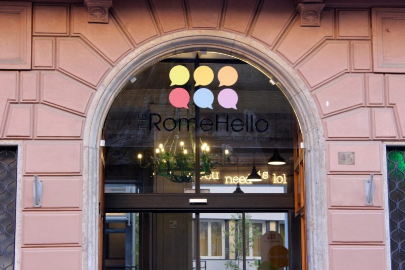 Doorway of the Romehello, affordable and central accommodation in Rome
