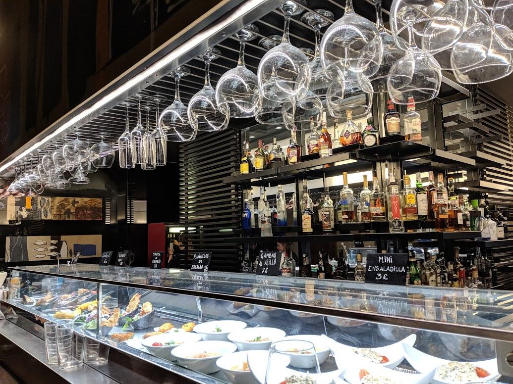 bar at fondillion in alicante, spain