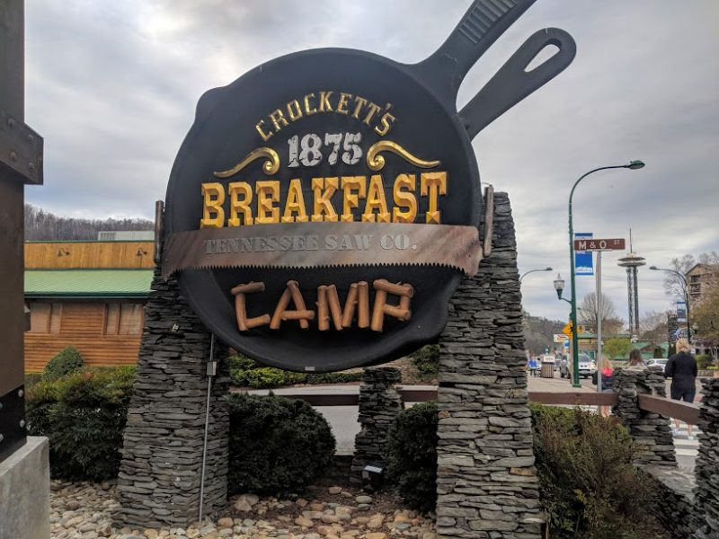 crocketts breakfast camp gatlinburg