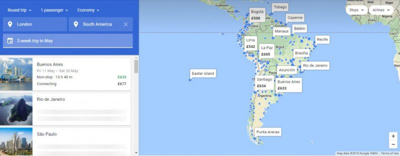how to find cheap flights on google flights example