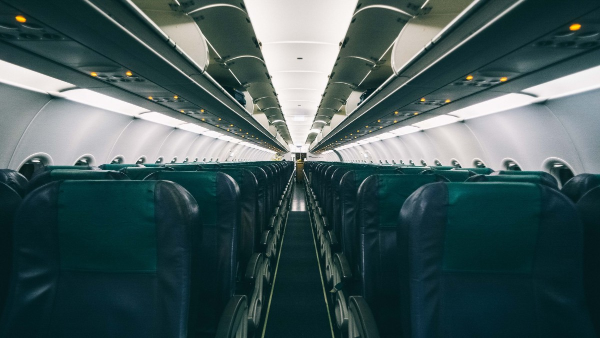 airline seats of cheap flight