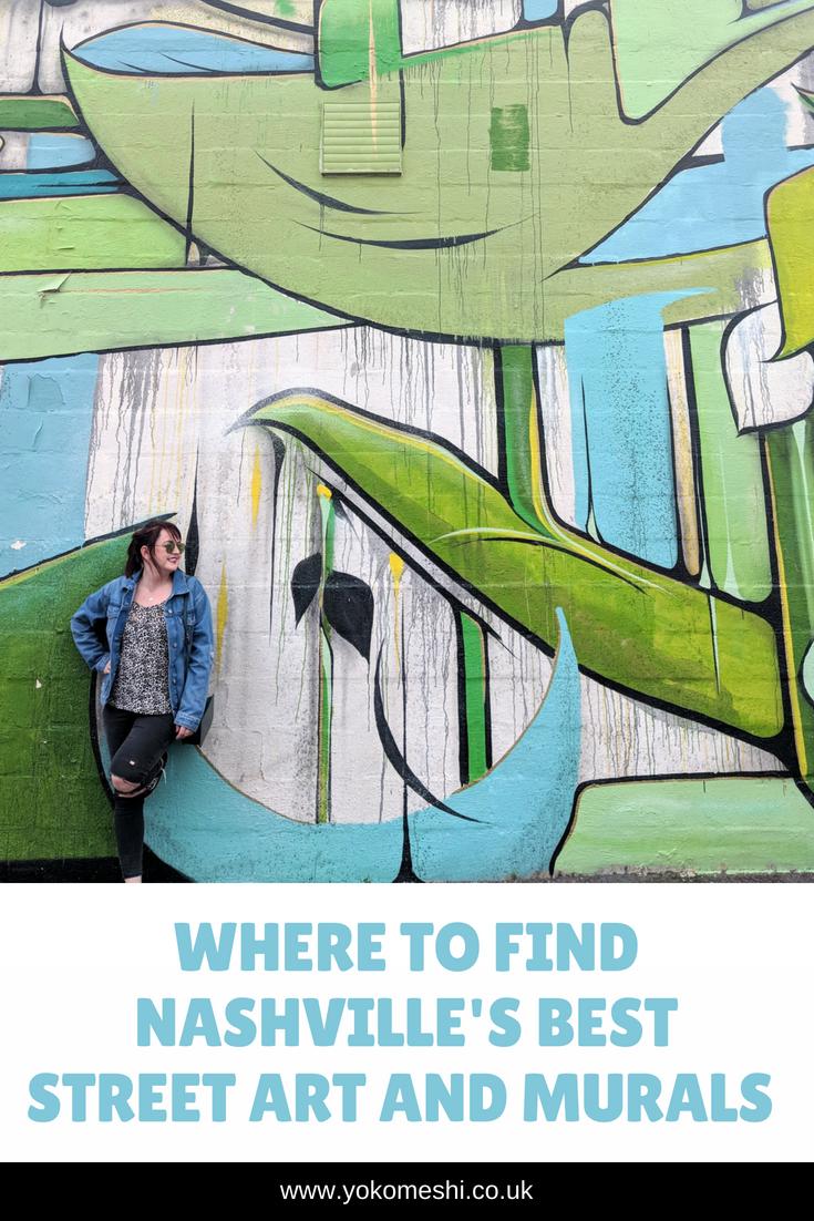 The best street art and murals in Nashville