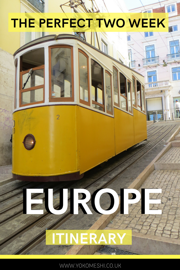 The perfect two week itinerary for travelling europe by train
