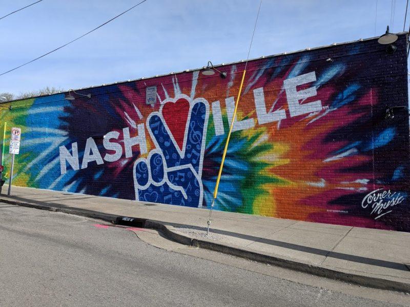 american road trip nashville street art