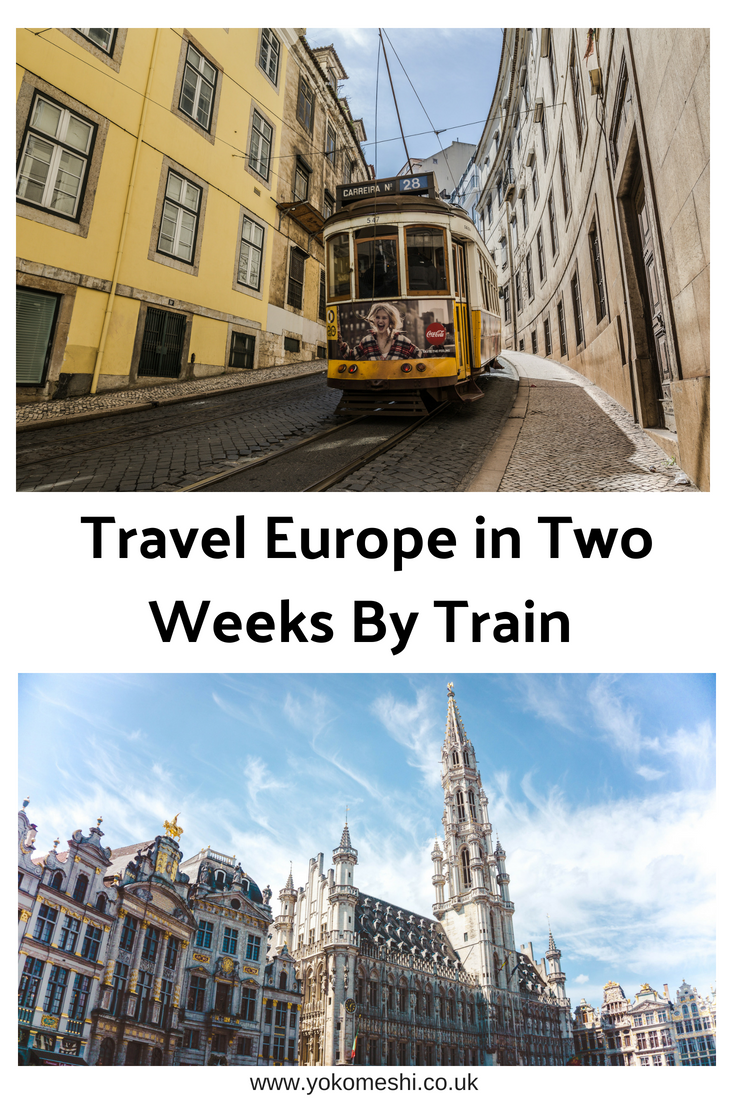two week europe by train