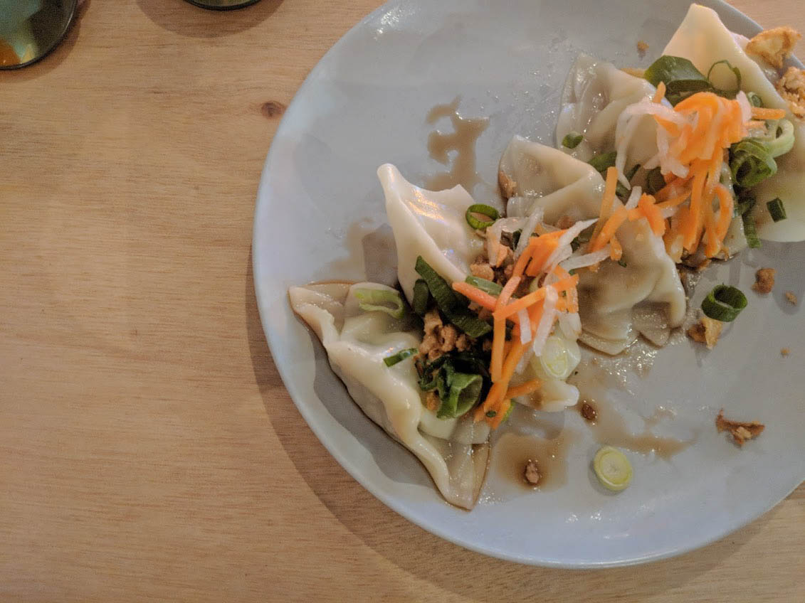 gyoza at anan kitchen utrecht