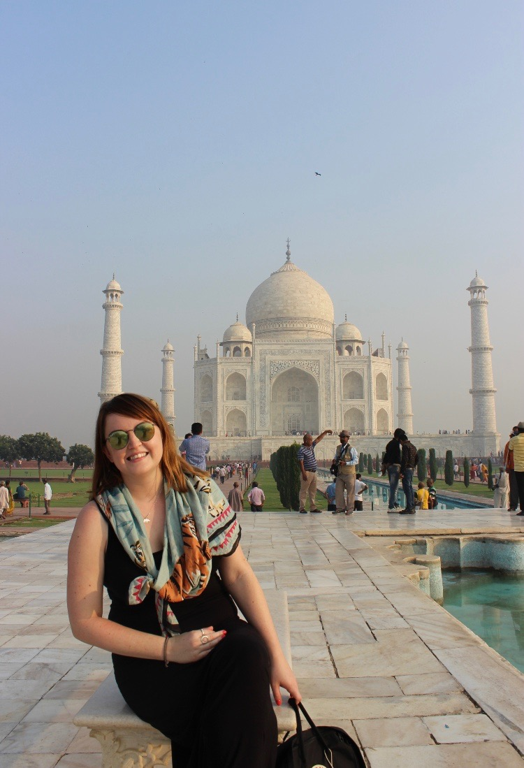 take plenty of scarves to wear in india, to easily and quickly cover shoulders when needed.