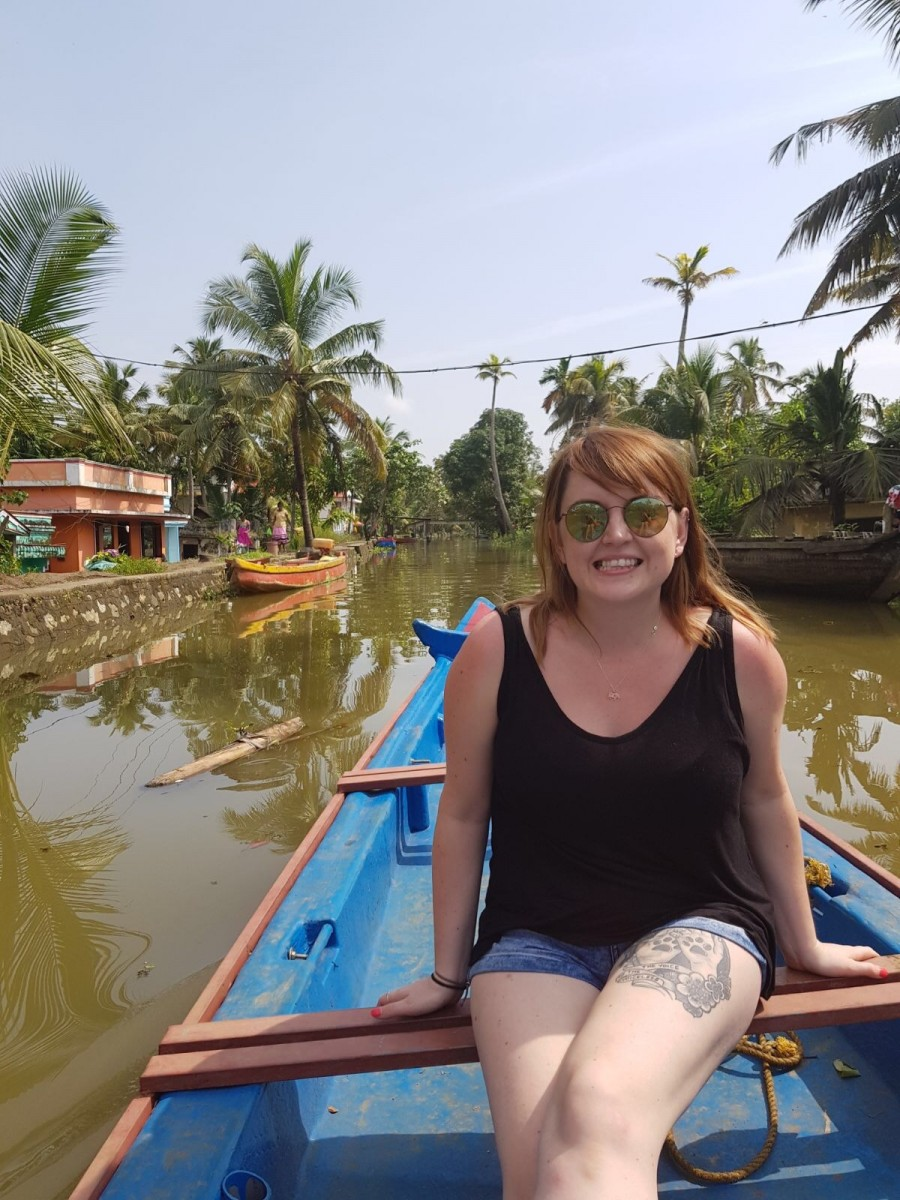 in india I opted to wear shorts in Kerala when travelling in private on the house boat