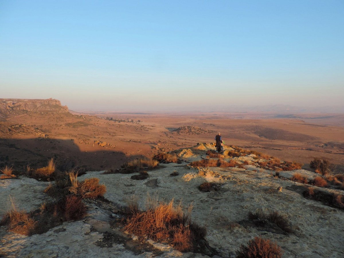 one of the hiking routes available at Lionsrock