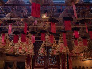 inside mak's noodles in Hong Kong