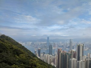 Victoria Peak (or the Peak, as its known colloquially) is the highest point in Hong Kong and the views back across the urban sprawl,