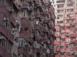 Photographers, my recommendation would be to ride a Ding Ding eastwards, to Quarry Bay and North Point. Here lies a dense, vertical jungle of concrete. This is sardine living and it makes for some spectacular photographs.