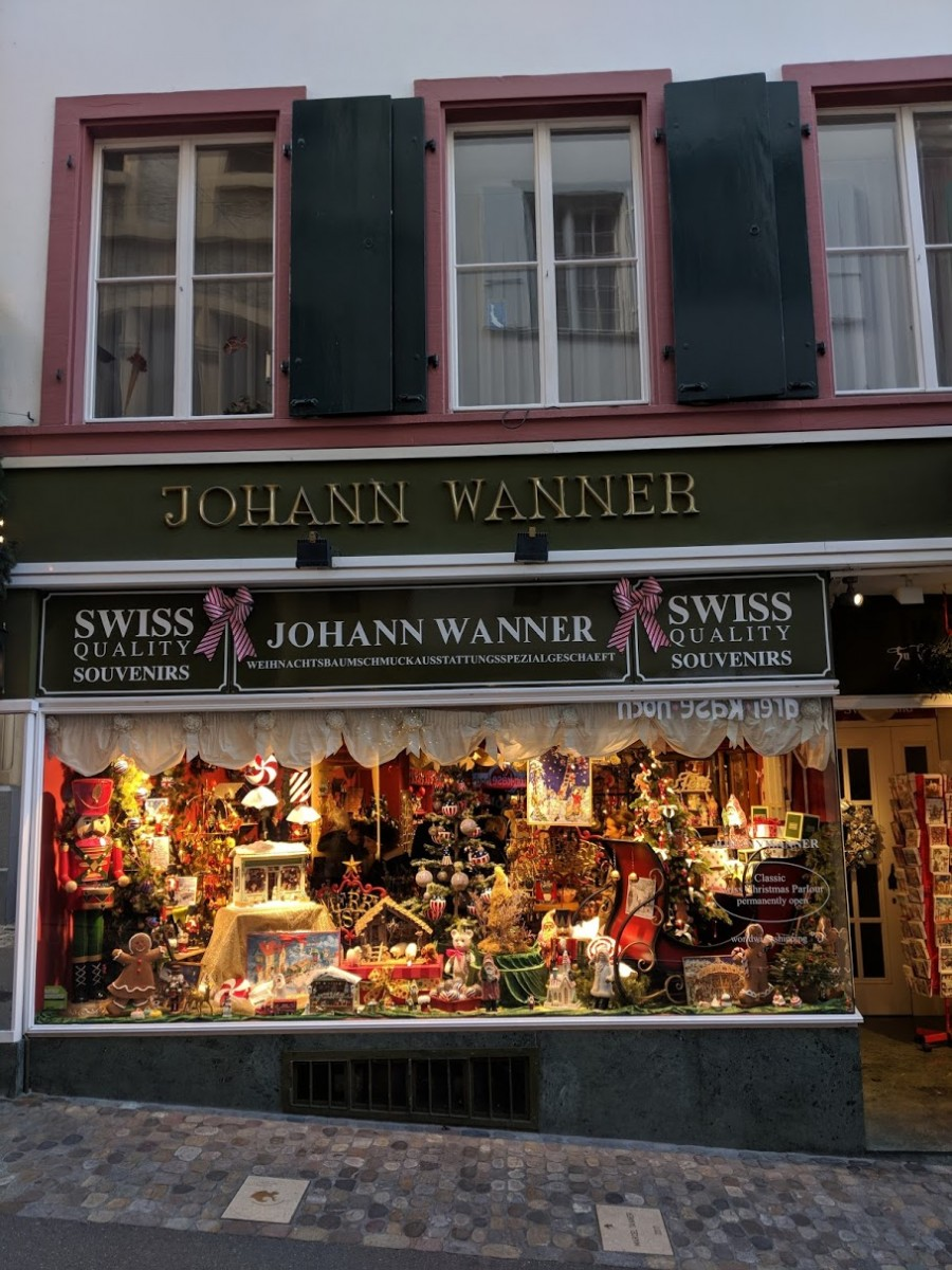johann wanner christmas shop in basel
