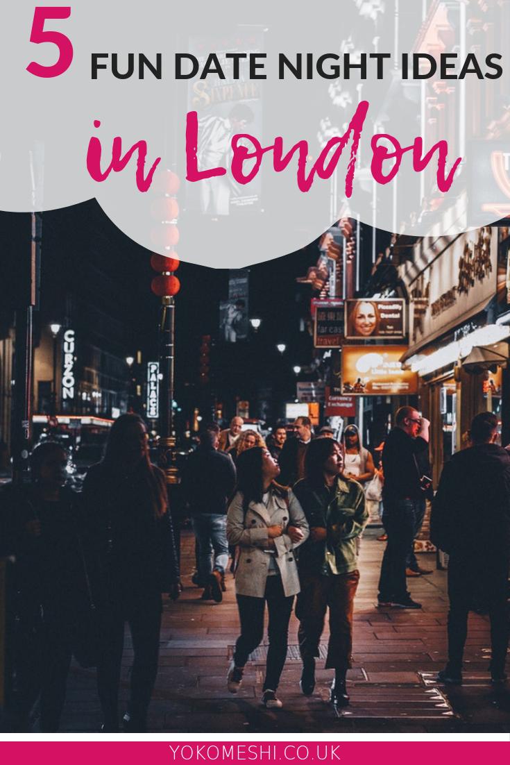 fun date night ideas in London
