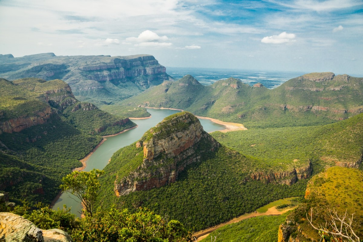 diverse landscapes in south africa