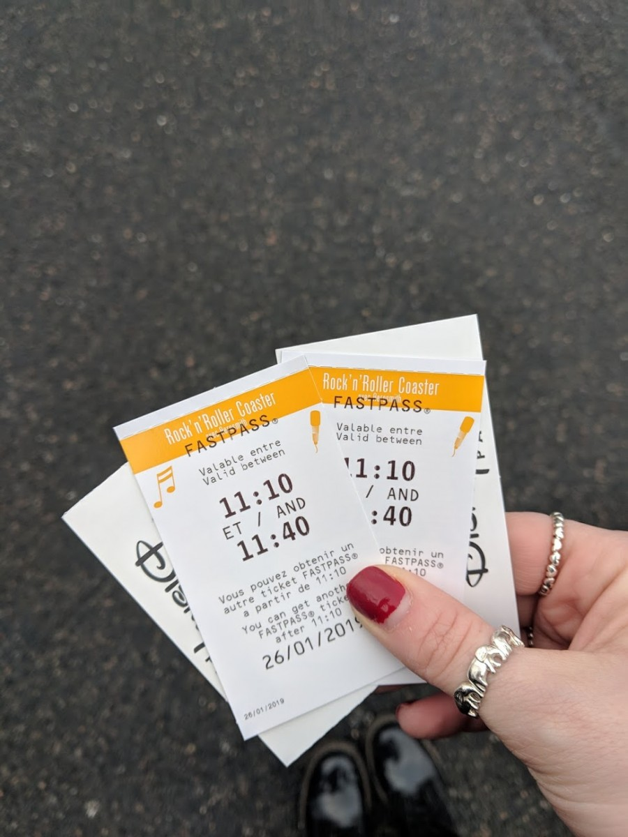 fastpass ticket at disneyland paris, fastpasses are a great way to beat the crowds when visiting disneyland paris as an adult