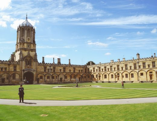 one of the many harry potter filming locations in oxford