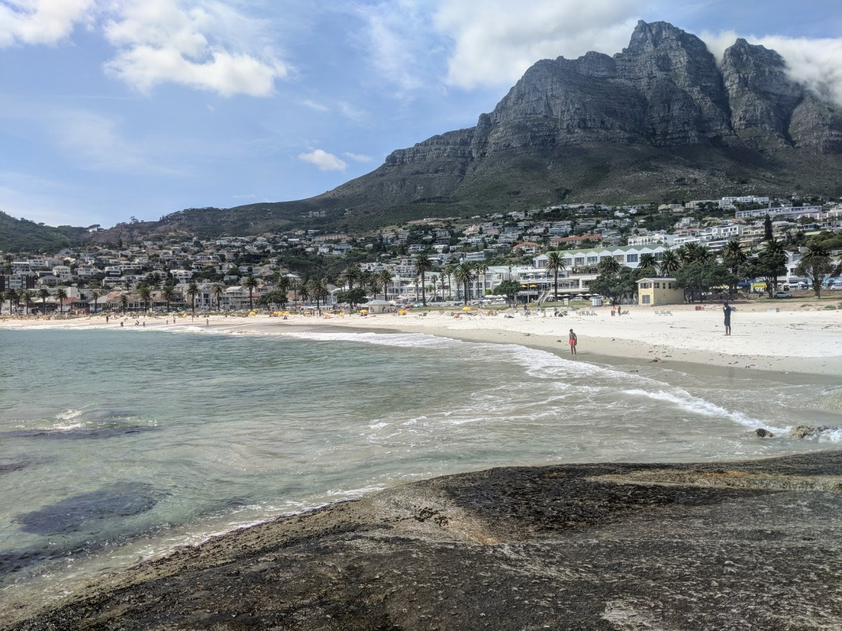 the beach at camps bay a popular place to visit when spending 3 days in cape town