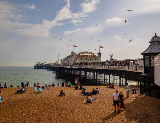 brighton pier, a popular day trip from london