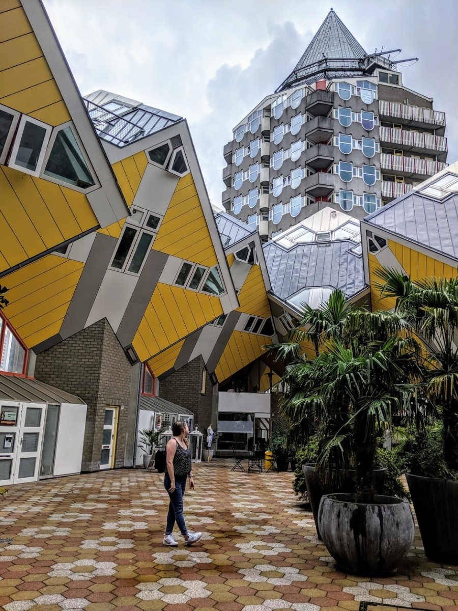visiting the cube houses are a must for one day in rotterdam