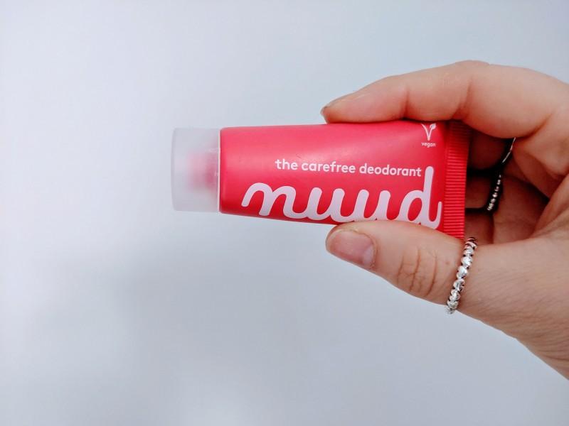 nuud deodrant packaging
