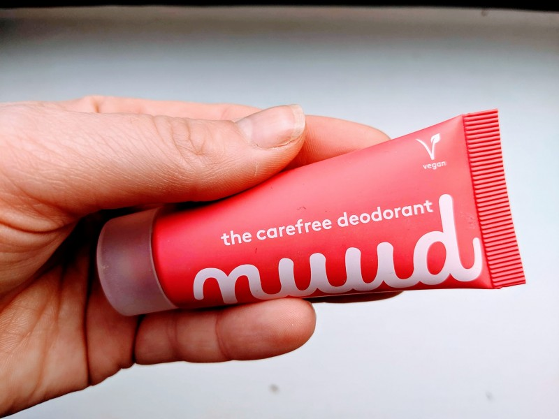 nuud deodrant packet - natural deodrant