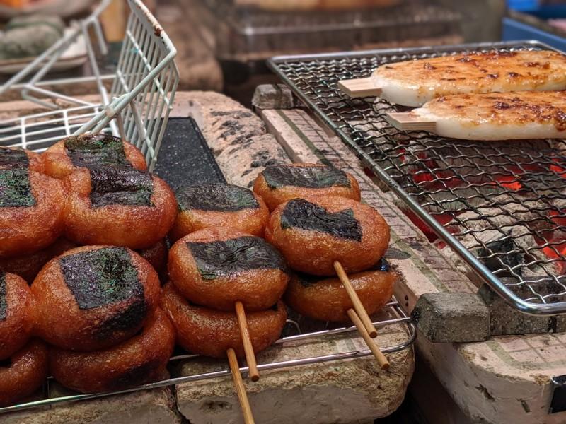 japanese street food in kyoto