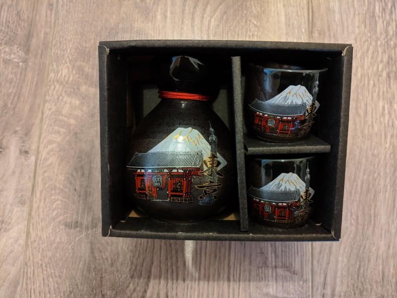 sake glasses from tokyo