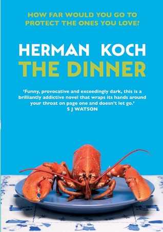 the dinner a fiction book about murder