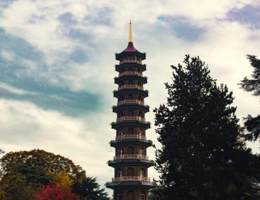 the great pagoda in kew gardens part of the kew gardens asian gardens